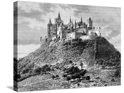 Burg Hohenzollern, South of Stuttgart, Germany, 19th Century-Taylor-Stretched Canvas Print