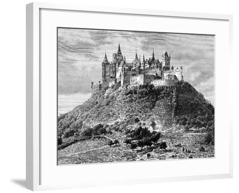 Burg Hohenzollern, South of Stuttgart, Germany, 19th Century-Taylor-Framed Art Print