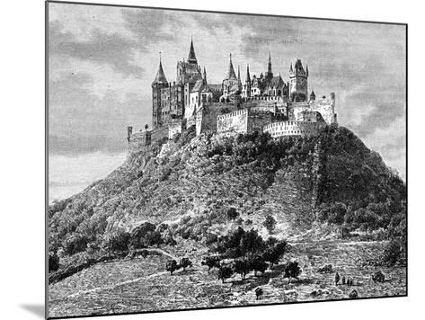 Burg Hohenzollern, South of Stuttgart, Germany, 19th Century-Taylor-Mounted Giclee Print