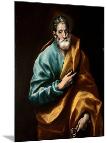 Peter the Apostle-El Greco-Mounted Giclee Print
