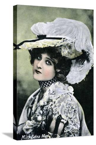 Edna May, American Singer and Actress, Early 20th Century--Stretched Canvas Print