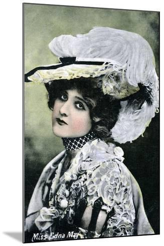 Edna May, American Singer and Actress, Early 20th Century--Mounted Giclee Print