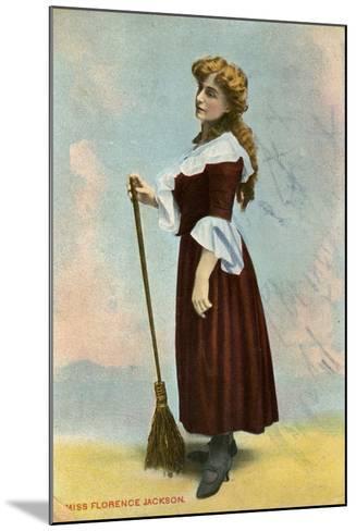 Florence Jackson, British Actress, C1908--Mounted Giclee Print