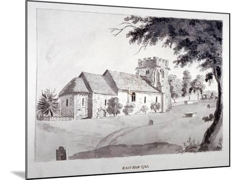 The Church of St Mary Magdalene, East Ham, Newham, London, 1785--Mounted Giclee Print