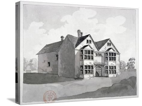 View of the Manor House at Little Ilford, Newham, London, C1786--Stretched Canvas Print