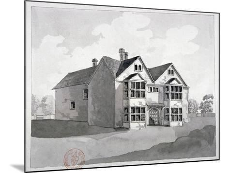 View of the Manor House at Little Ilford, Newham, London, C1786--Mounted Giclee Print