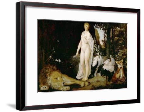 The Fable, 1883-Gustav Klimt-Framed Art Print