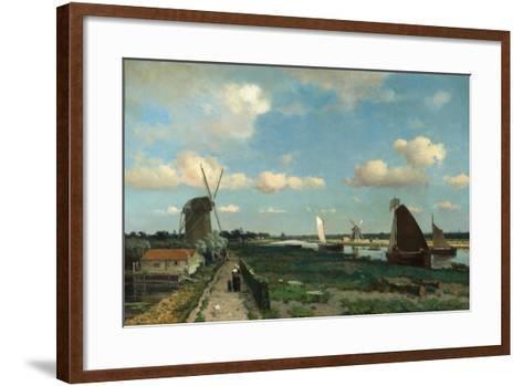 Trekvliet, 1870-Hendrik Johannes Weissenbruch-Framed Art Print
