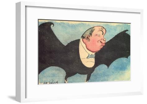 Caricature Portrait of Nikita Balieff, 1925-Nikolay Vladimirovich Remizov-Framed Art Print