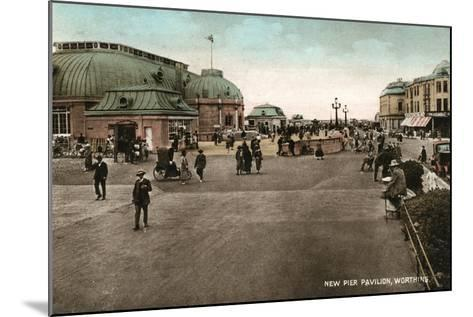 The Pavilion on the Pier, Worthing, West Sussex, Early 20th Century--Mounted Giclee Print