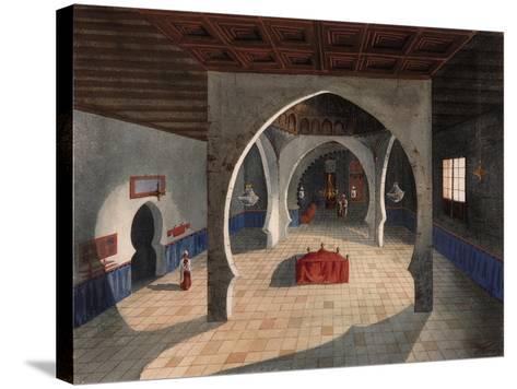 A Mosque-Eduardo Flores Ibáñez-Stretched Canvas Print