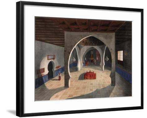 A Mosque-Eduardo Flores Ibáñez-Framed Art Print