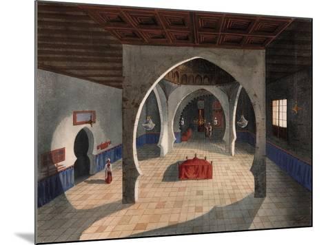 A Mosque-Eduardo Flores Ibáñez-Mounted Giclee Print