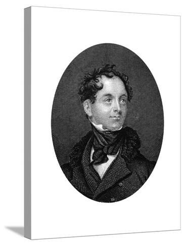 Thomas Moore, Irish Poet, 1877--Stretched Canvas Print
