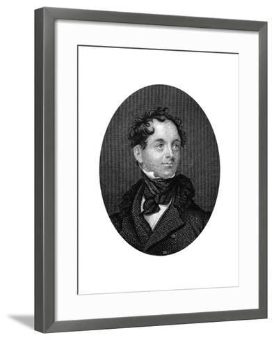 Thomas Moore, Irish Poet, 1877--Framed Art Print