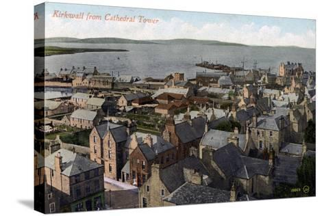 Kirkwall from the Cathedral Tower, Orkney, Scotland, 20th Century--Stretched Canvas Print