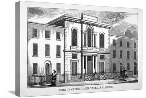Northampton Tabernacle, Spa Fields, Finsbury, London, C1830--Stretched Canvas Print