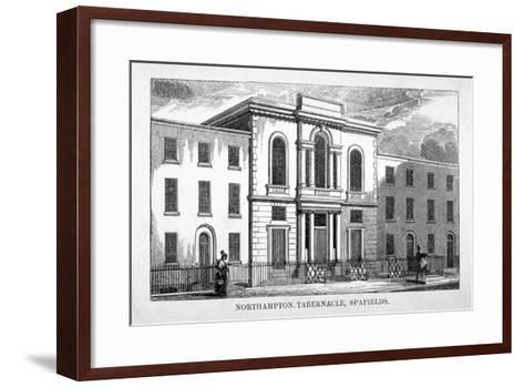 Northampton Tabernacle, Spa Fields, Finsbury, London, C1830--Framed Art Print