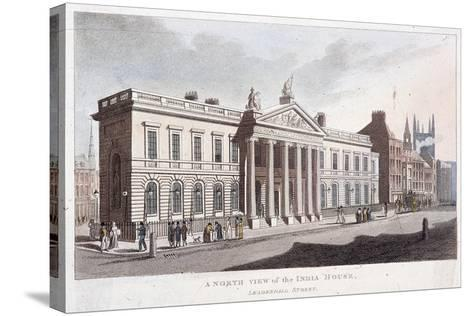 East India House, London, 1810--Stretched Canvas Print