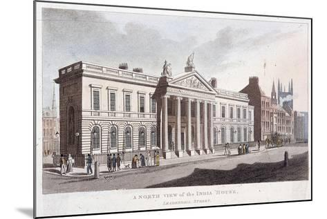 East India House, London, 1810--Mounted Giclee Print