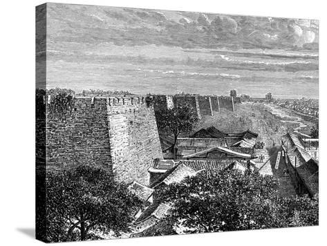 Peking's Old City Walls, China, 19th Century-Taylor-Stretched Canvas Print