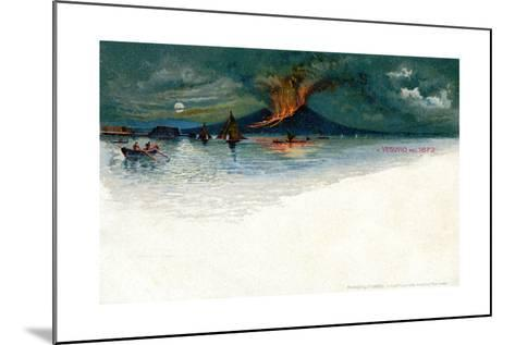 Vesuvius in 1872--Mounted Giclee Print