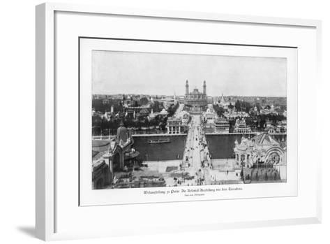 Museum of the Colonies, Trocadero, Paris World Exposition, 1889--Framed Art Print
