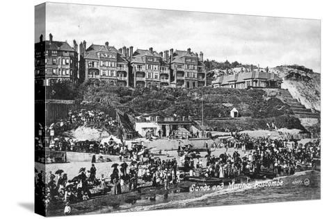 Sands and Marina, Boscombe, Bournemouth, Dorset, Early 20th Century--Stretched Canvas Print
