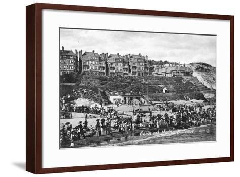 Sands and Marina, Boscombe, Bournemouth, Dorset, Early 20th Century--Framed Art Print