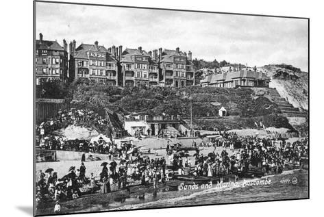 Sands and Marina, Boscombe, Bournemouth, Dorset, Early 20th Century--Mounted Giclee Print