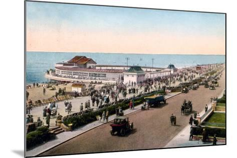 The Bandstand and Promenade, Worthing, West Sussex, Early 20th Century--Mounted Giclee Print