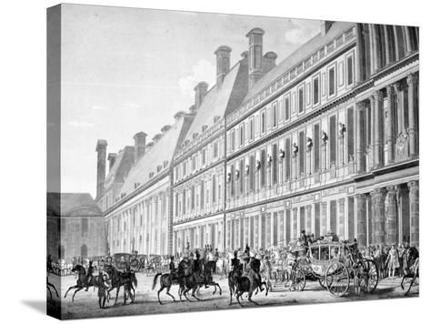 The Departure from Tuileries Palace, 2nd December 1804, 19th Century--Stretched Canvas Print