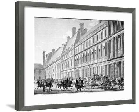 The Departure from Tuileries Palace, 2nd December 1804, 19th Century--Framed Art Print