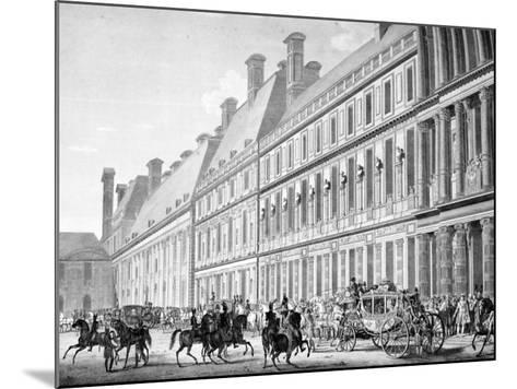 The Departure from Tuileries Palace, 2nd December 1804, 19th Century--Mounted Giclee Print
