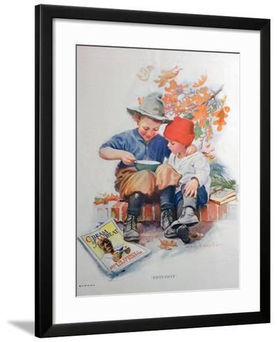 Advert for Cream of Wheat, American Hot Breakfast Cereal, 1923--Framed Art Print
