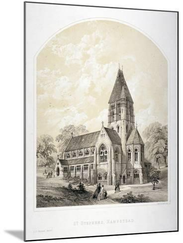 Church of St Stephen, Rosslyn Hill, Hampstead, London, C1870-Day & Son-Mounted Giclee Print