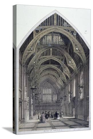 Guildhall, London, C1870--Stretched Canvas Print