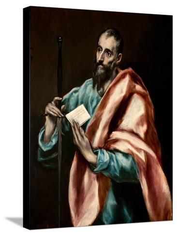 The Apostle Paul-El Greco-Stretched Canvas Print
