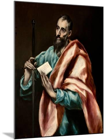 The Apostle Paul-El Greco-Mounted Giclee Print