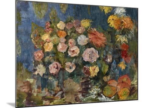 Still Life with Flowers and Fruit, 1907-Nikolai Nikolayevich Sapunov-Mounted Giclee Print