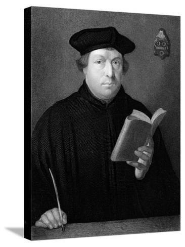 Martin Luther, C1830--Stretched Canvas Print