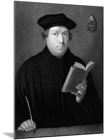 Martin Luther, C1830--Mounted Giclee Print