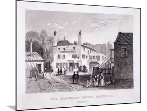 The Spaniards Inn, Hampstead Heath, Hampstead, London, C1840--Mounted Giclee Print