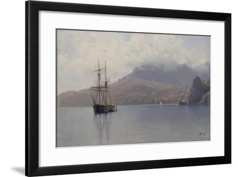 The Sea, 1888-Lev Felixovich Lagorio-Framed Art Print