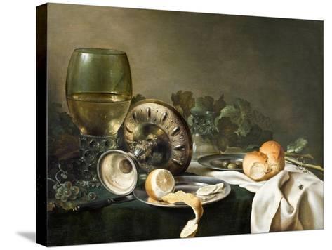 Still-Life-Willem Claesz Heda-Stretched Canvas Print