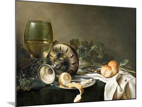 Still-Life-Willem Claesz Heda-Mounted Giclee Print