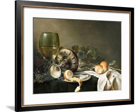 Still-Life-Willem Claesz Heda-Framed Art Print