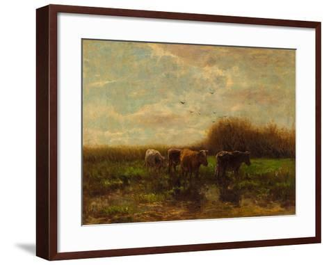 Cows at Evening-Willem Maris-Framed Art Print