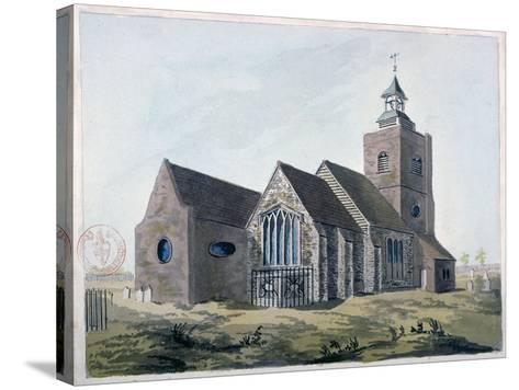 Church of St Mary the Virgin, Leyton, Waltham Forest, London, 1799--Stretched Canvas Print