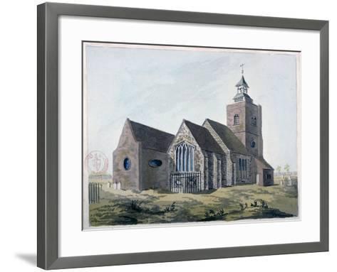 Church of St Mary the Virgin, Leyton, Waltham Forest, London, 1799--Framed Art Print